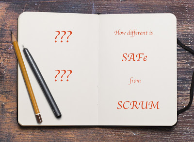 How different is SAFe from SCRUM?