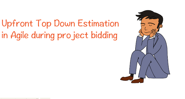 How to do upfront top-down estimation in Agile for project bidding?