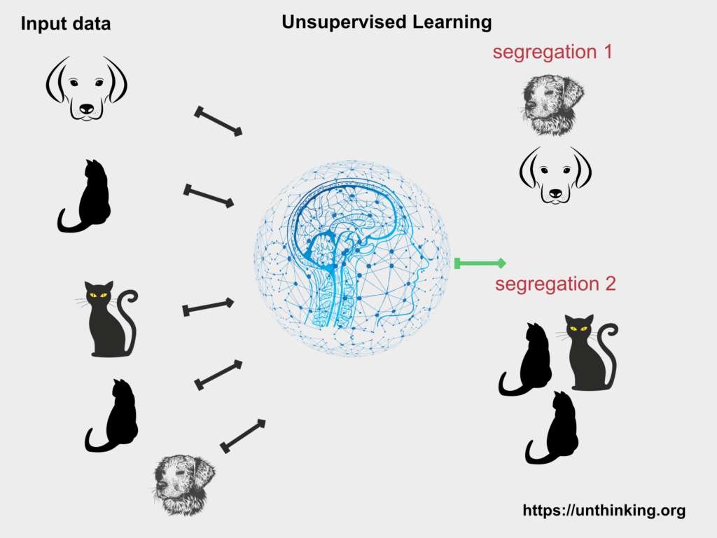 Representation of unsupervised learning
